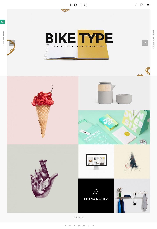 Portfolio Themes Wordpress 2015 Portfolio Wordpress Theme