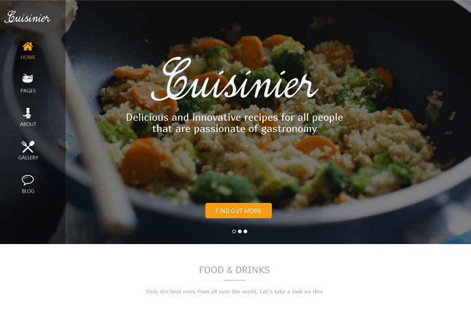 10+ Best Organic WordPress Themes 2015 08
