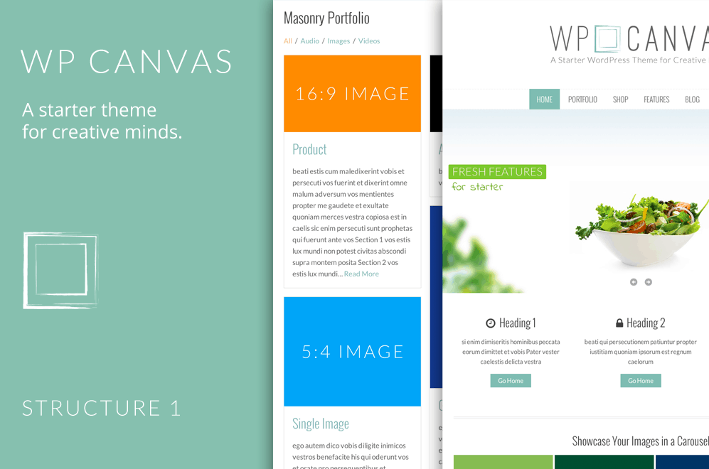 10+ Best Organic WordPress Themes 2015 10
