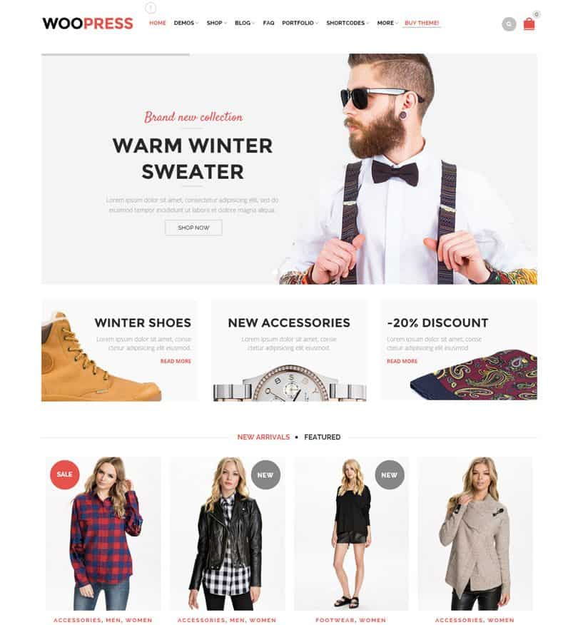 Best WordPress ECommerce Themes For Professionals (2018