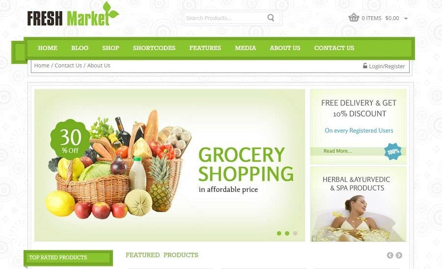 10+ Best Organic WordPress Themes 2015 02