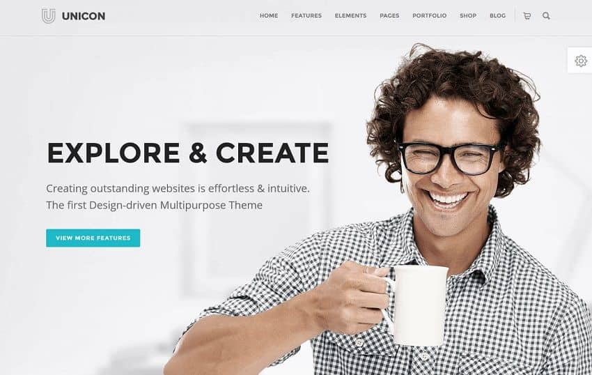 simple new wordpress theme