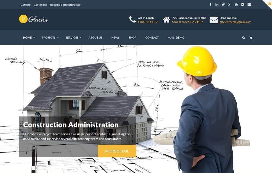 55+ Best CONSTRUCTION WordPress Themes - (2019 UPDATED)