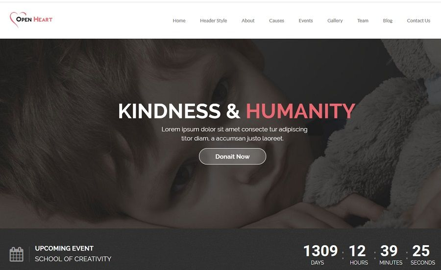 non profit wordpress themes for charities