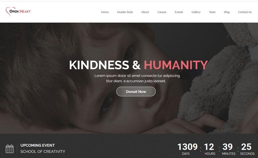 non profit wordpress themes for charities