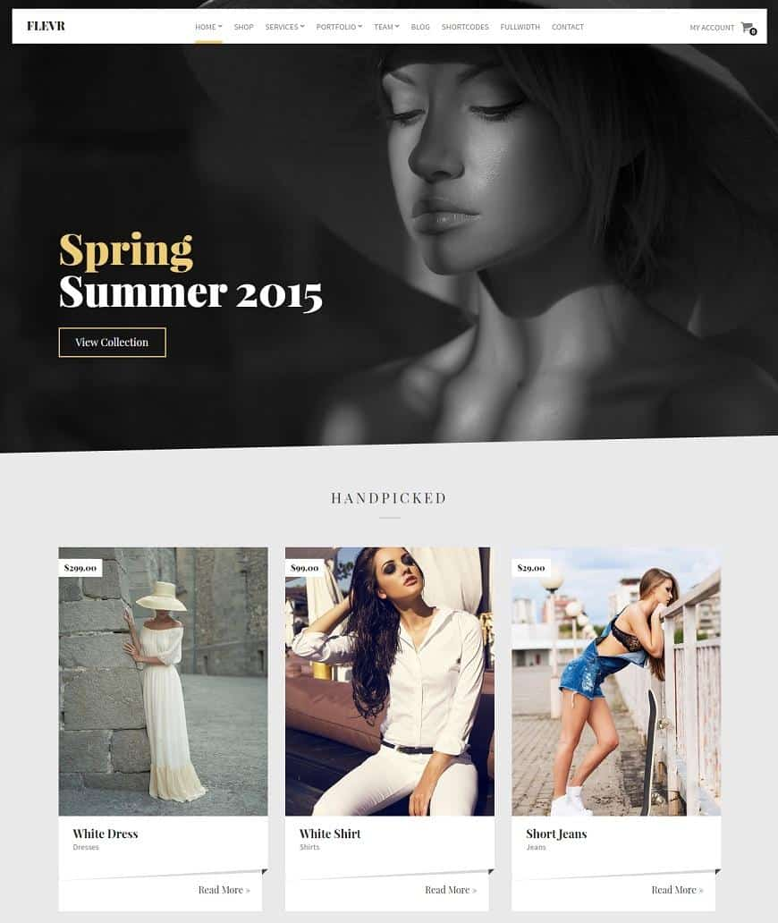 55 wordpress ecommerce themes best of 2018 updated worpress ecommerce template pronofoot35fo Images