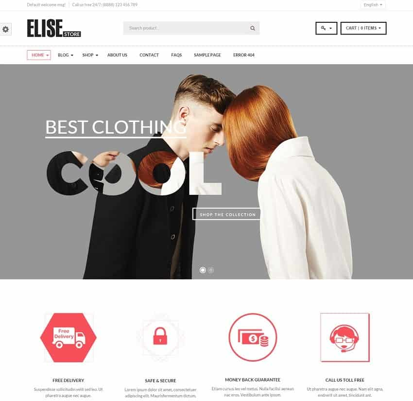 Best Wordpress Ecommerce Themes For Professionals 2019 Update