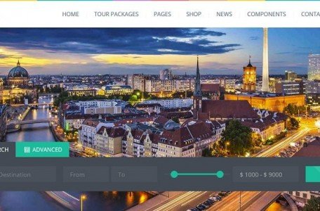 traveling wordpress theme