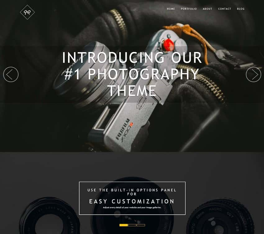 best wordpress theme by themeisle