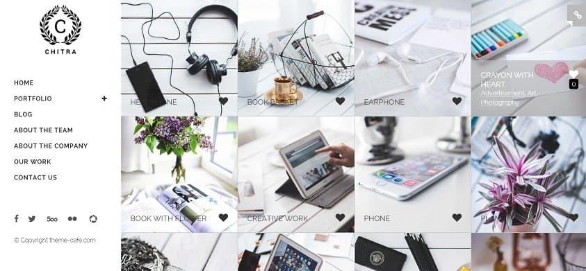 photography theme for wordpress