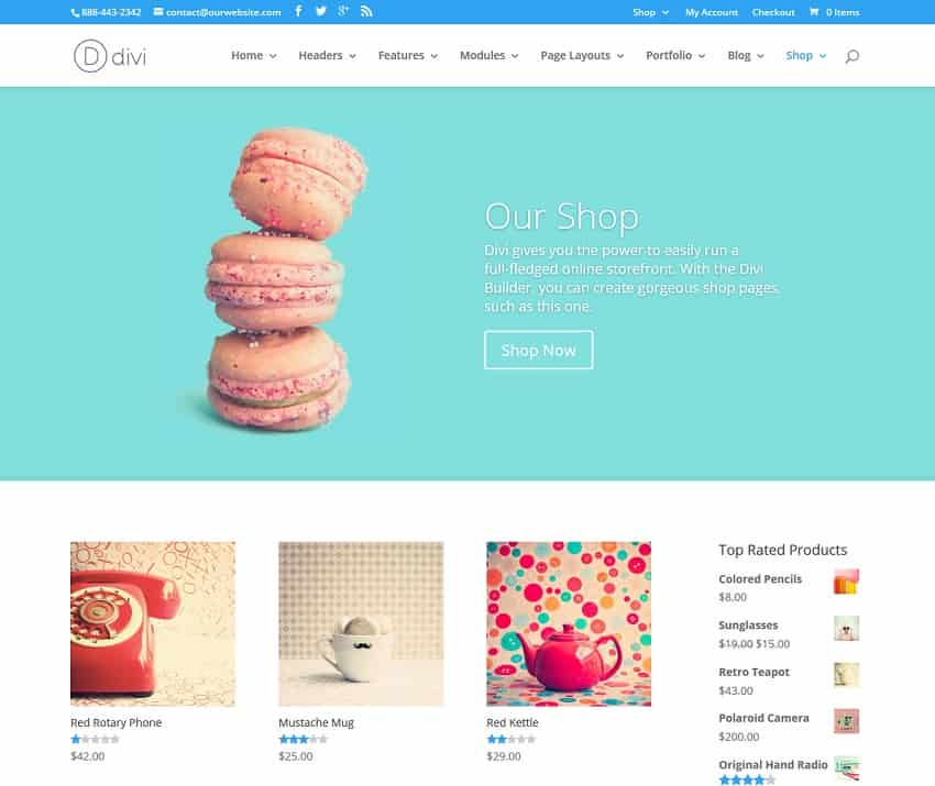 shop wordpress theme - by elegant themes - WebCreate.Me