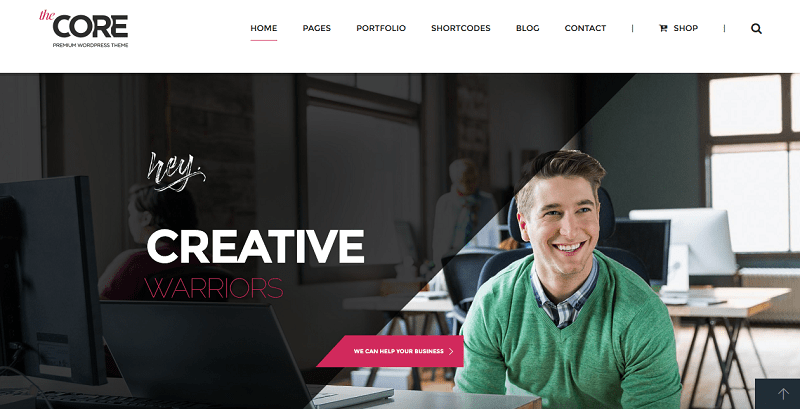 core creative wordpress theme