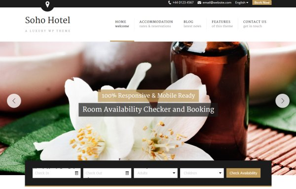 best of luxury hotel wordpress themes