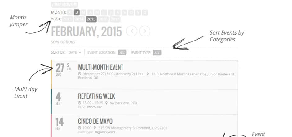 best wordpress plugin for events