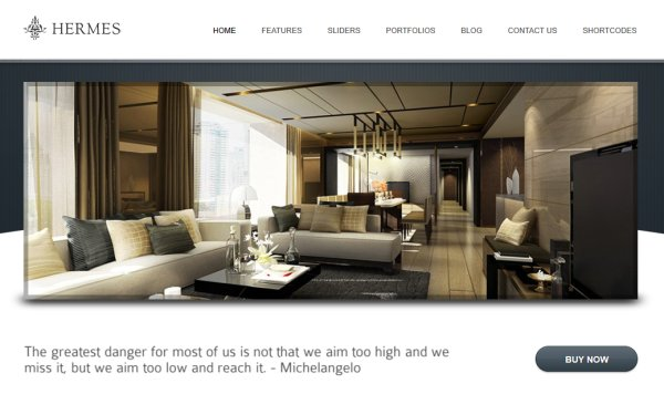 hermes hotel wordpress theme