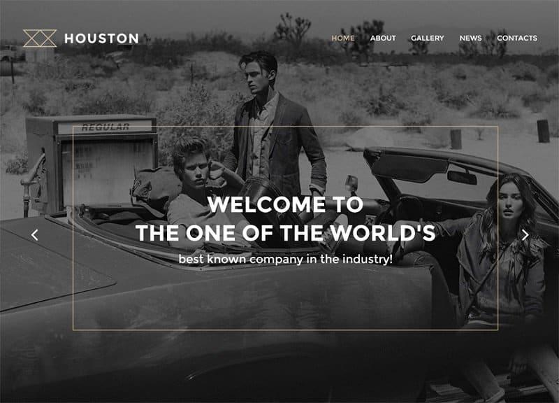 houston creative business theme for wp