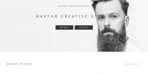 Rhythm WordPress Simple Theme
