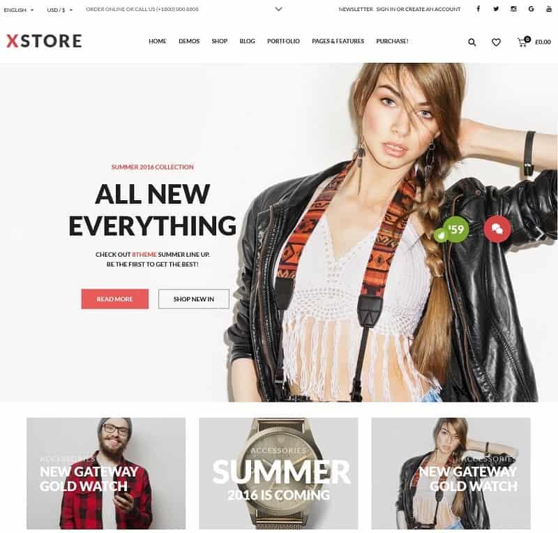 XStore WP Ecommerce Theme