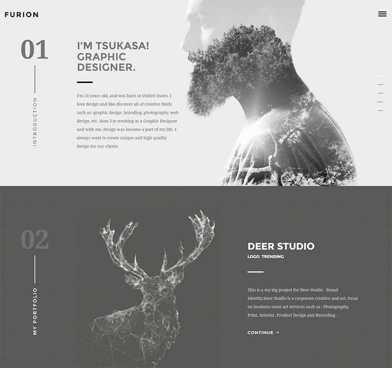 creative portfolio theme - webCREATE