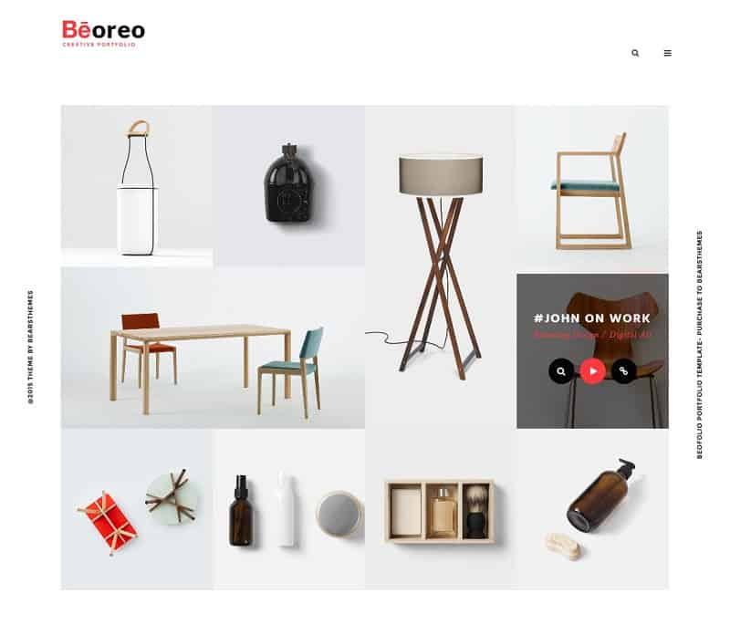 Portfolio - Beoreo Theme for WordPress