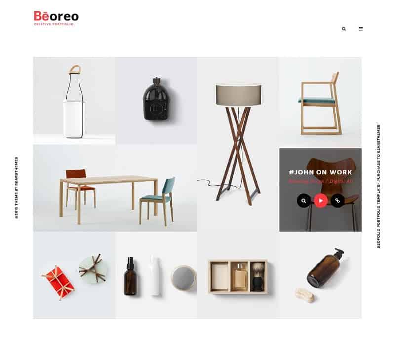 Portfolio - Beoreo Theme for WordPress