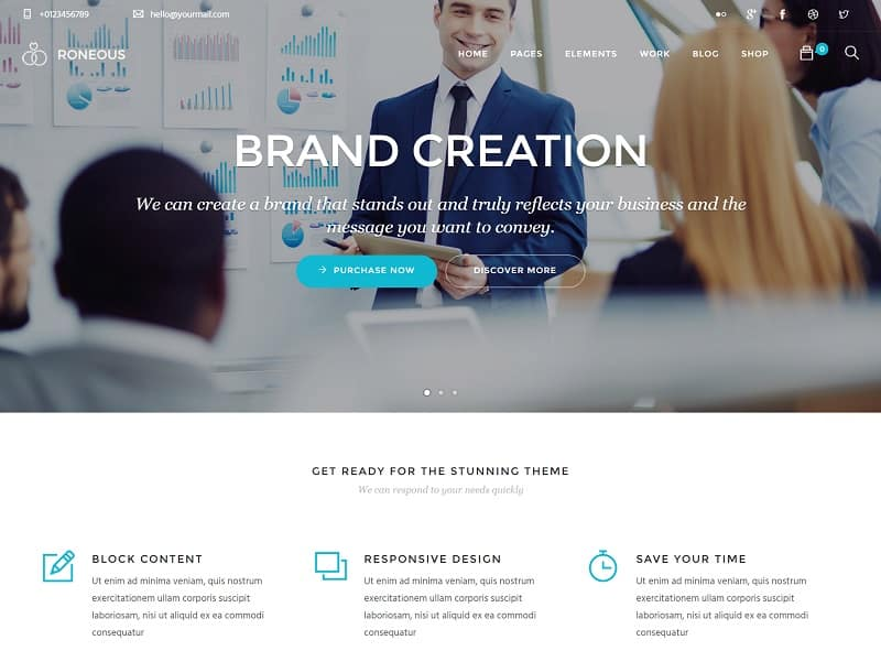 business-agency-roneous-simple-theme
