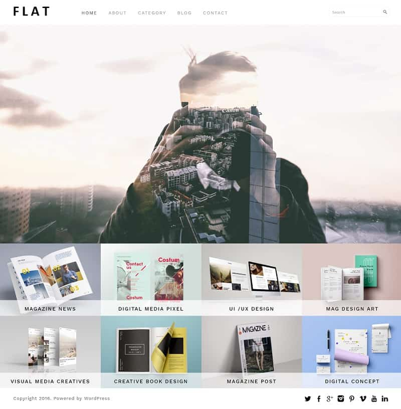 flat-responsive-wordpress-theme-for-photographers