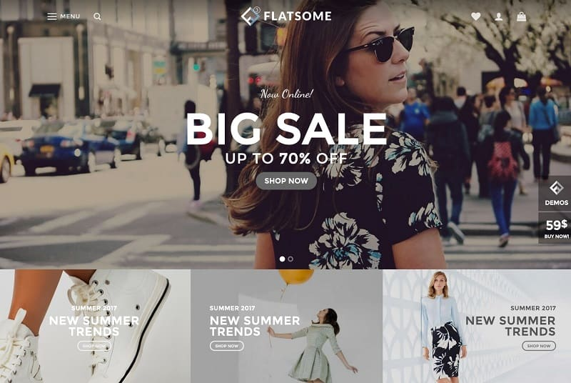 flatsome - best wordpress theme for ecommerce