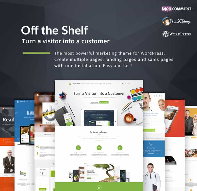 OffTheShelf - Business Theme For WordPress
