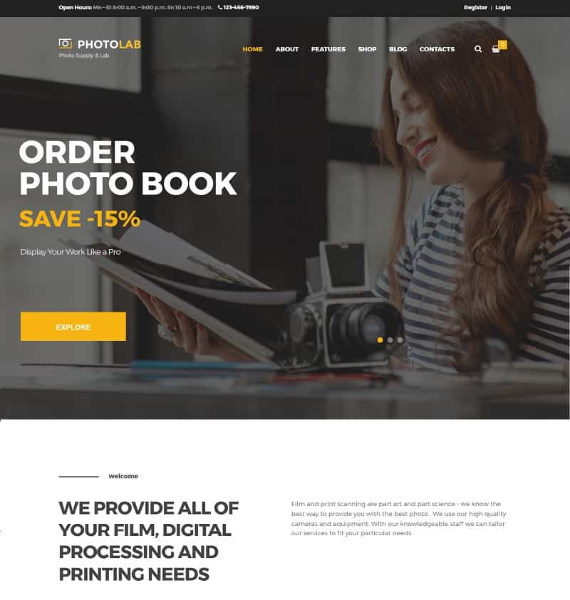 PhotoLab Photo Theme
