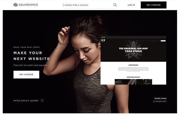 squarespace website creator