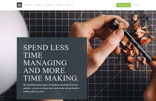 virb - create online portfolio
