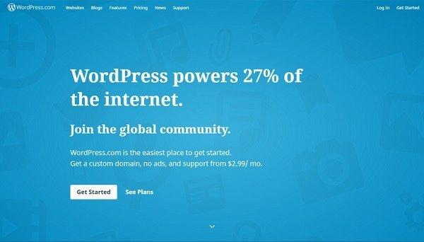 wordpress.com portfolio