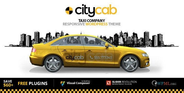 New Selection of Top 10 Amazing Taxi Car WordPress Themes