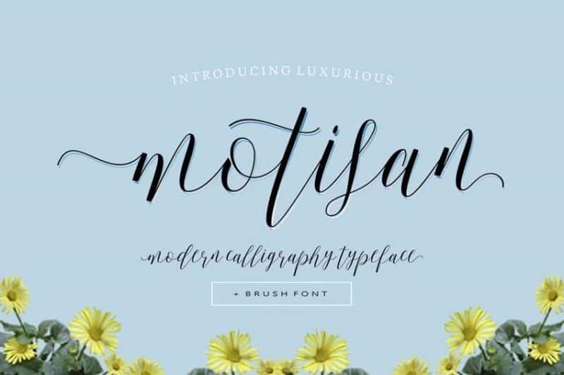 motisan font