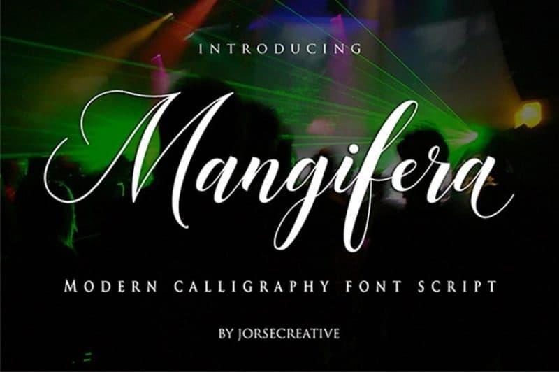 mangilera font