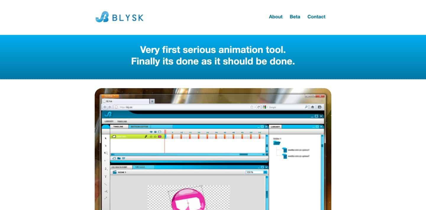 BLYSK - HTML5 animation software