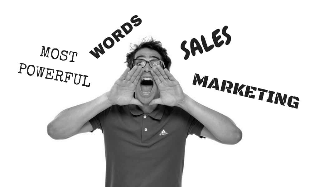 6 Most Powerful Words for Sales in Digital Marketing