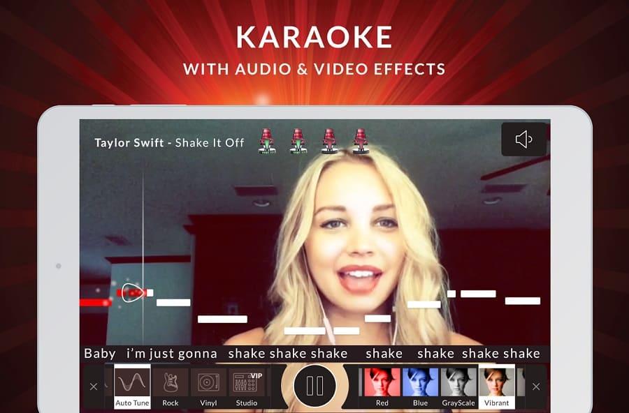 the voice karaoke app