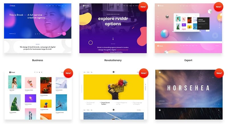 Creative Multipurpose WordPress Theme - Demos