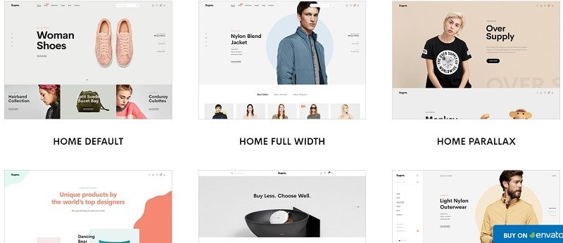 Supro Minimalist AJAX WooCommerce WordPress Theme