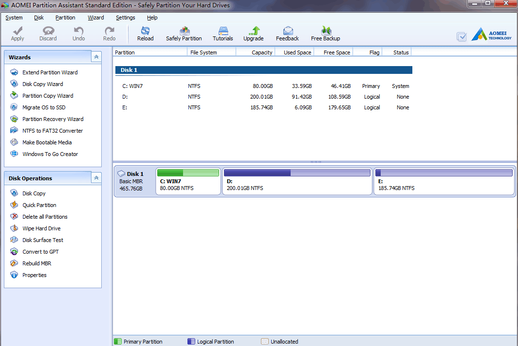 aomei partition assistant professional edition soft98