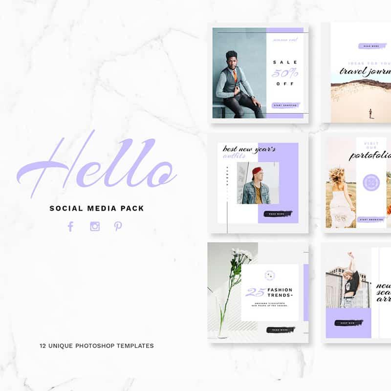Hello Pack Social Media