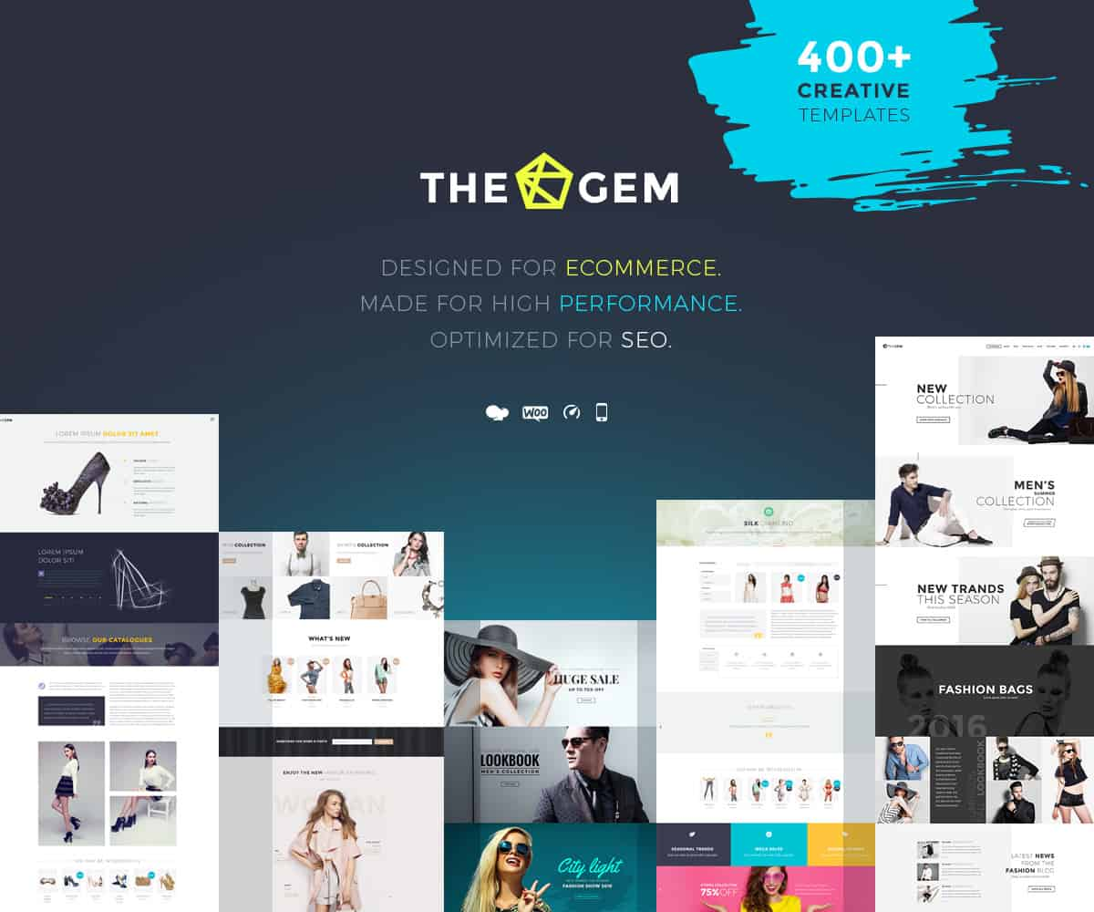 WordPress Ecommerce Themes - THEGEM