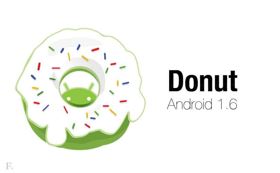 android donut version