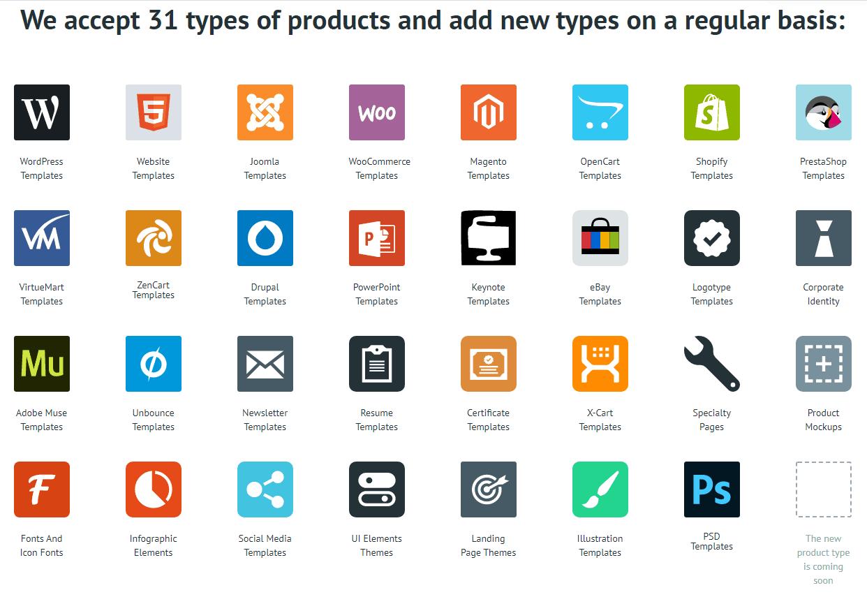 digital marketplaces for web designers
