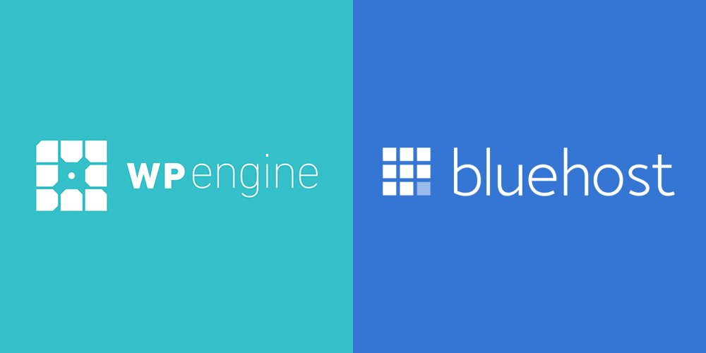 WP Engine vs Bluehost Web Hosting Comparison