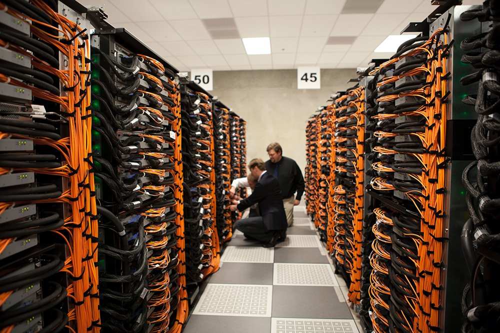How Websites Are Hosted - Servers in a data center